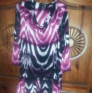 Alfani waisted tunic size XL